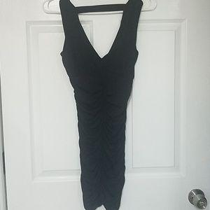 Black tight fitting club dress.. very sexy